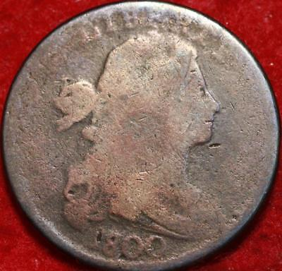 1800 Philadelphia Mint Copper Draped Bust Large Cent