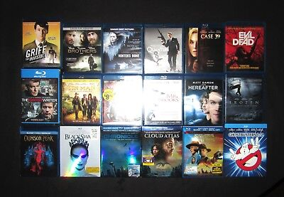 Lot of 18 Blu-Ray Movies! Sci-Fi, Fantasy, Horror & More! Free Shipping!