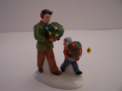 "Dept 56 Snow Village Collection Accessory    ""i Hope She Likes Them""   Flowers"