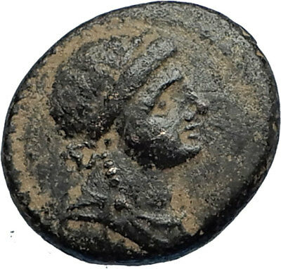 ANTIOCH Seleukis Roman Emperor NERO Time 59AD Ancient Greek Coin w APOLLO i67528