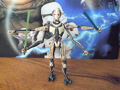 Star Wars Figur, General Grievous, Actionfigur, Hasbro, K1.