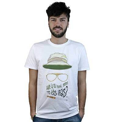 T-shirt Fear and loathing in Las Vegas, T-shirt white, Film Cult, Cult Movie