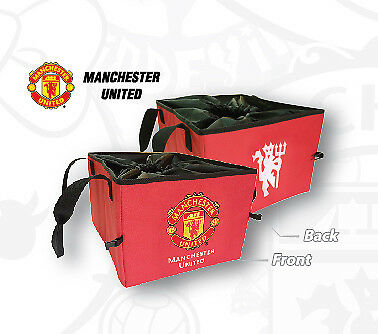 Manchester United car accessory: MUFC boot tidy, utility bag for car. Official.