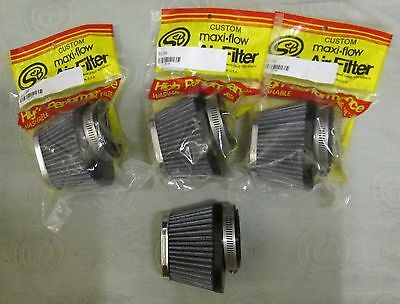 Kawasaki GPZ900R Set of 4 S & B Oval Air Filters  GPZ900 GPZ 900R 900 R
