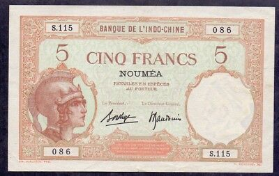 5 Francs From New Caledonia - French Colony B3