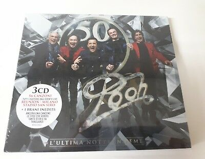 Pooh L'ultima Notte Insieme 3 Cd ...Nuovo