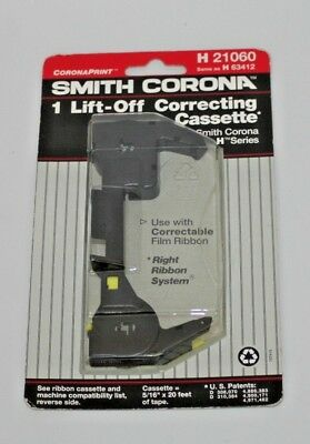 New Smith Corona Typewriter Lift-Off Correction Cassette H21060 H63412