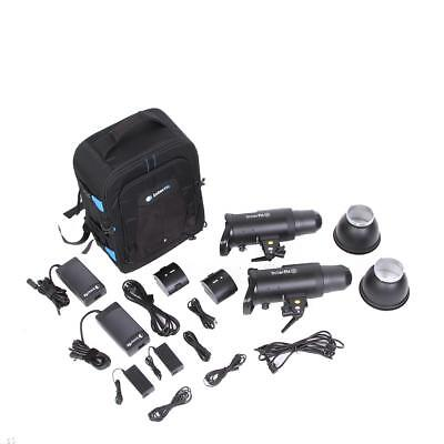Interfit Photographic S1 On-Location Portable 2-Light Backpack Kit - SKU#975768
