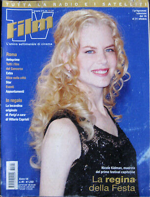 FILM TV 41 2006 Nicole Kidman Sean Connery Franca Valeri Actor's Studio Roma