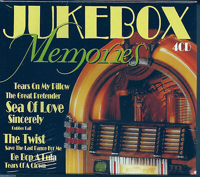 JukeBox Memories (1999) BOX 4 CD NUOVO Santo & Johnny. Johnny Cash. Gene Vincent