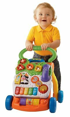 Baby Walker Boys Girls Learning Toy Music Activity Toddler Vtech Walk Assistant