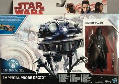 Star Wars Force Link Darth Vader Imperial Probe Droid Star Wars 2-Pack The Last