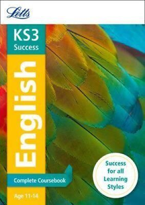 KS3 English Complete Coursebook by Letts KS3 9781844197613 (Paperback, 2014)