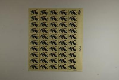 Us Scott 1362 Pane Of 50 Wood Duck Waterfowl Conservation Stamps 6 Cent Face Mnh