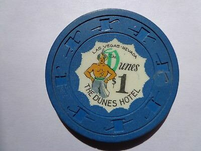 1$  Dunes Hotel Casino Chip [From 50S Or 60S ??]