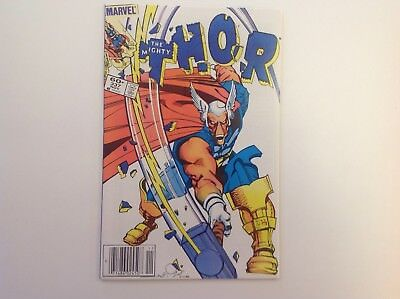 Thor #337 First Appearance of Beta Ray Bill (Nov 1983, Marvel)