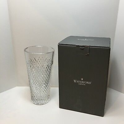 "Waterford Crystal Alana 10"" Vase - Made in Ireland"
