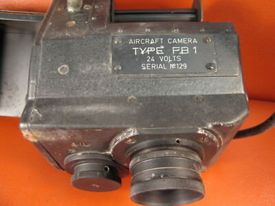 VINTAGE Aircraft Camera Type FB1 **recused from closed camera store
