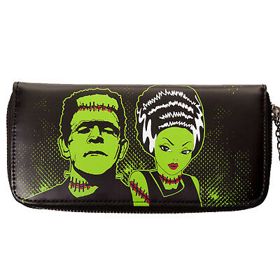 Banned Dancing Days Frankenstein & Wife Rockabilly Goth Retro Wallet Purse