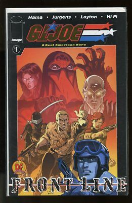 G.i. Joe A Real American Hero Front Line #1 Nm Df Gold Foil Variant 0139/1000