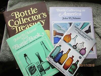 Lot of  4 Bottle digging collecting books