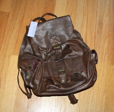 Claire's Brown Backpack (NWT)