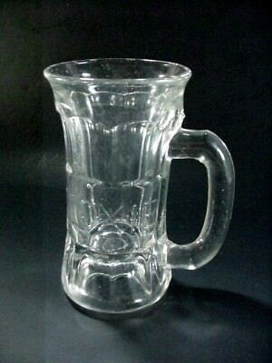 Antique Moxie Advertising Soda Fountain Pressed Glass Mug - early 1900