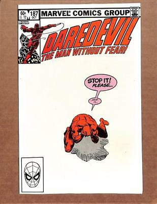Daredevil # 187 - NEAR MINT 9.8 NM - New Black Widow! Avengers Defenders! MARVEL