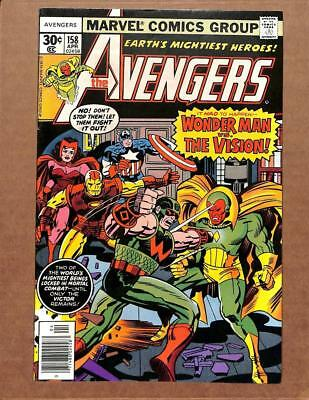 Avengers # 158 - NEAR MINT 9.0 NM - Captain America Iron Man! MARVEL Comics!