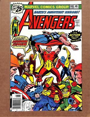 Avengers # 148 - NEAR MINT 9.2 NM - Captain America Iron Man! MARVEL Comics!
