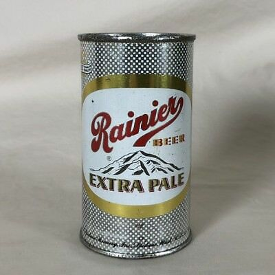 Rainer Extra Pale Beer Flat Top Can Montain Sicks Spokane Brewery WA 118-26 NICE