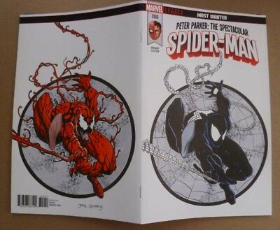 Spectacular Spider-man #300 Original Sketch Cover Art Carnage SymbioteSpider-man