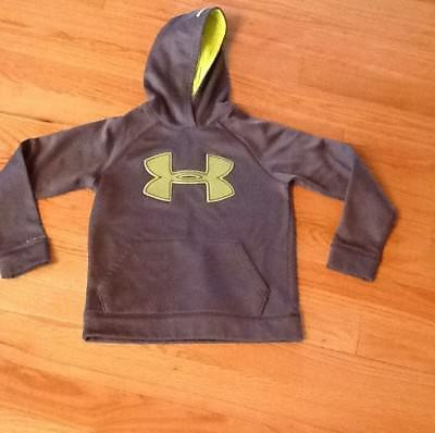 Under Armour Boys Youth Hoodie Pullover Jacket Gray Medium