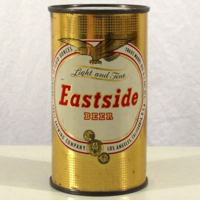 Eastside Flat Top Beer Can Pabst Brewing Eagle Los Angeles CA 58-13 -SHARP-