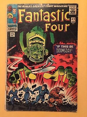 Fantastic Four V1 49 (Marvel 1966) see photos for condition | Lee Kirby