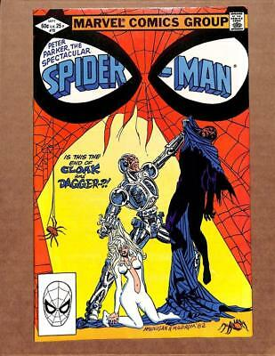 Spectacular Spider-Man # 70 - NEAR MINT 9.6 NM - Cloak & Dagger! MARVEL Comics