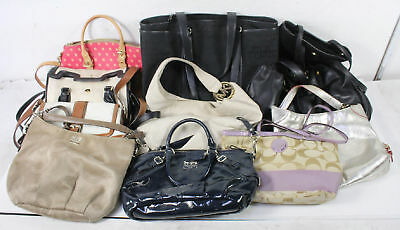 Lot of 10 Coach Bags Wholesale Purses Canvas Leather