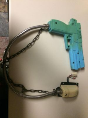 Namco time crisis gun works great some ratchet action left!