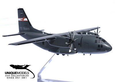 C-27J Spartan Desktop Model - RAAF  35 SQN 75 Years Livery - 1:72 Scale - New