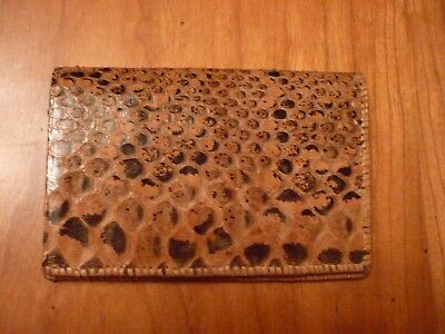 Accessories - purse -leather-new 6 by 3.5 inches with a change compartment