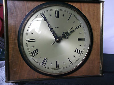 Vintage metamec Lounge wall clock working