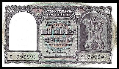 10 Rupees From India Unc   MM3