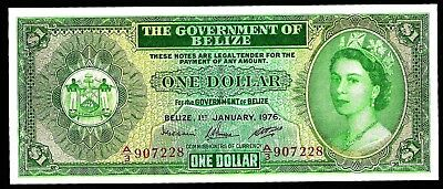 1 Dollar From Belize 1976  Unc MM3