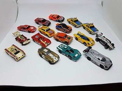Vintage AFX cars  sixteen in total  as is - all used