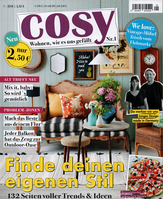 """""""COSY""""  April-Mai 2018  /  Sehr guter Zustand!"""