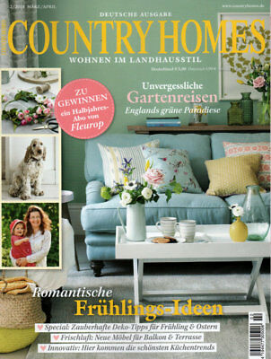 """""""COUNTRY HOMES"""" März-April 2018 /  Sehr guter Zustand!"""