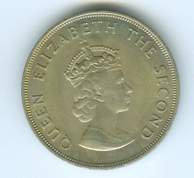 Jersey 5 Shilling 1966-Uncirculated