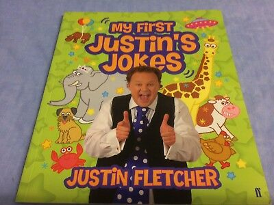My first Justin's Jokes by Justin Fletcher book Good condition