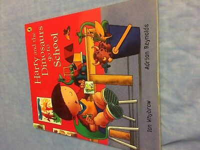 Harry and the Dinosaurs go to School book Good condition