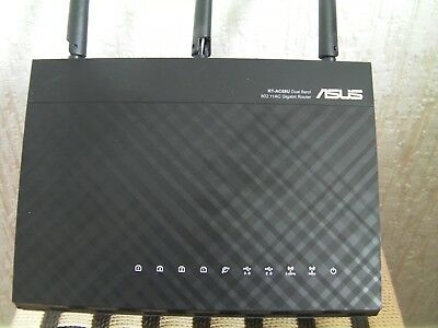 ASUS RT-AC68U 1900 Mbps 10/100 Wireless AC Router